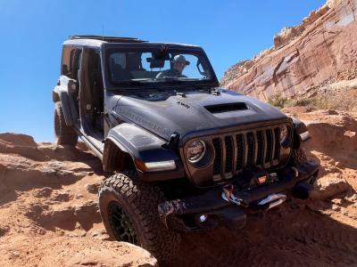 Jeep Wrangler Xtreme Recon   Les photos du pack off-road