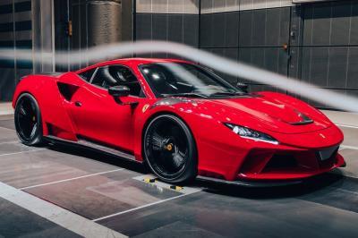 Ferrari F8 N-Largo by Novitec   Les photos de la sportive préparée