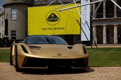 Lotus Emira (2022) | les photos de la sportive au Festival of Speed de Goodwood