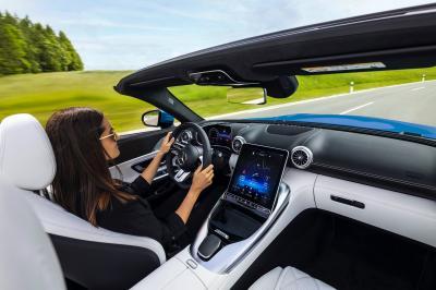 Mercedes-AMG SL (2021) | Les photos de son habitacle