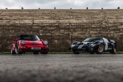 Everrati et Superformance | Les photos du projet de Ford GT40 électrique