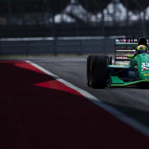 Mick Schumacher au volant de la Jordan Ford de son père | les photos officielles