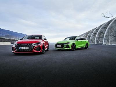 Audi RS3 (2021) | Les photos de la compacte sportive allemande