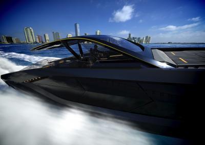 Tecnomar for Lamborghini 63 | Les photos du yacht inspiré par les supercars