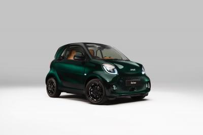 Smart EQ Fortwo Racing Green Edition | les photos de la micro-citadine électrique en édition limitée Brabus