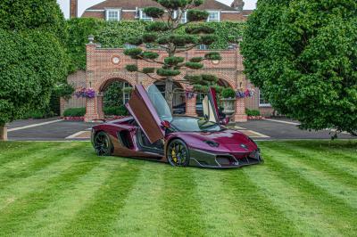 Lamborghini Aventador | Huber livre son premier modèle customisé en Angleterre