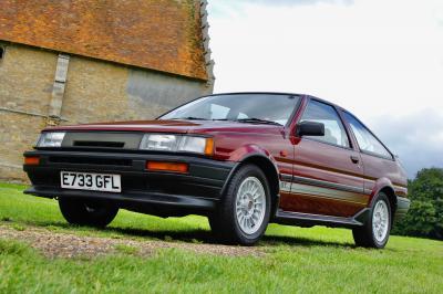 Toyota Corolla GT (1987) | les photos de l'exemplaire le plus cher du monde