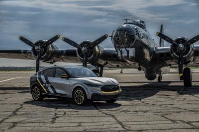 Ford Mustang Mach-E | les photos de l'exemplaire hommage aux Women Airforce Service Pilots