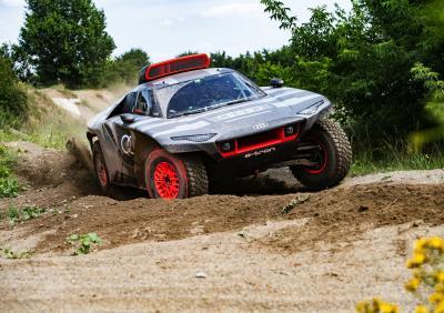 Audi RS Q e-tron (2022) | Les photos du buggy hybride pour le Dakar