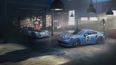 """Porsche 911 Turbo S """"One of a Kind"""" Pedro Rodríguez   Les photos de la super-sportive"""