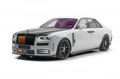 Rolls-Royce Ghost by Mansory   Les photos de la limousine préparée