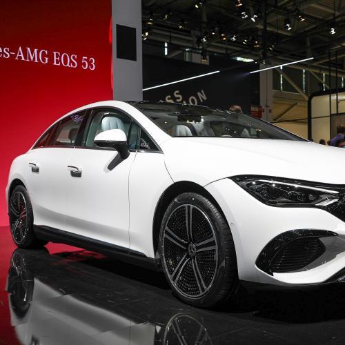 Salon de Munich 2021   Nos photos de la Mercedes EQE (2022)