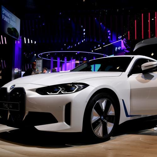 Salon de Munich 2021   Nos photos de la BMW i4 (2021)