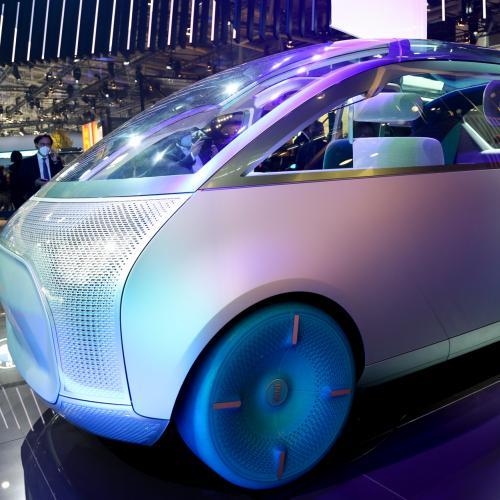 Mini Vision Urbanaut   nos photos du concept-car au Salon de Munich 2021