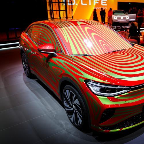 Volkswagen ID.5 GTX (2022)   nos photos au Salon de Munich 2021