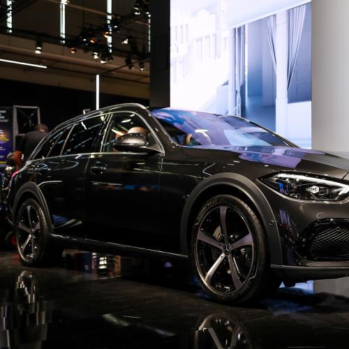 Mercedes Classe C All-Terrain (2022)   nos photos au Salon de Munich 2021