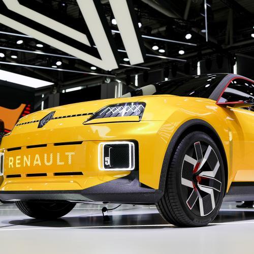 Renault 5 électrique   nos photos du prototype au salon de Munich 2021