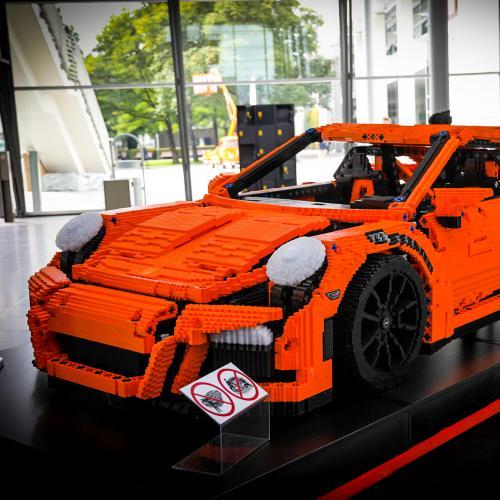 Porsche 911 GT3 RS by Lego   nos photos au salon de Munich 2021