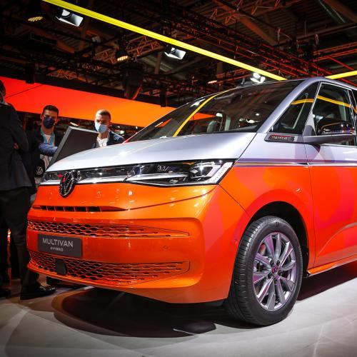 Volkswagen Multivan T7 eHybrid   nos photos au salon de Munich 2021