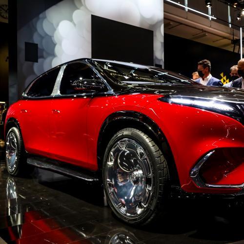 Mercedes-Maybach EQS   les photos du concept au salon de Munich 2021