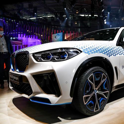 BMW iX5 Hydrogen (2022)   nos photos au salon de Munich 2021