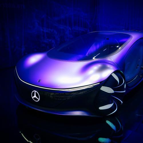Mercedes Vision AVTR   nos photos du concept-car au salon de Munich 2021