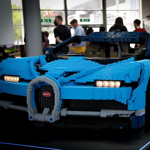 Bugatti Chiron by Lego   nos photos au salon de Munich 2021