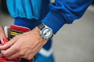 Michel Vaillant | les photos de la montre Yema Rallygraf