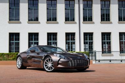 Aston Martin One-77 | Les photos de la sculpturale super-sportive