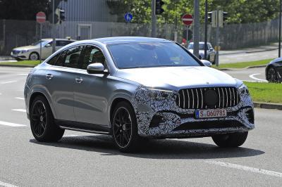 Mercedes GLE (2023) | Les spyshots du SUV Coupé restylé