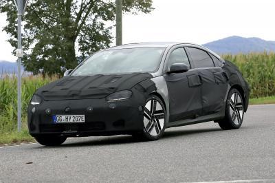 Hyundai Ioniq 6 (2023) | Les spyshots de la berline profilée