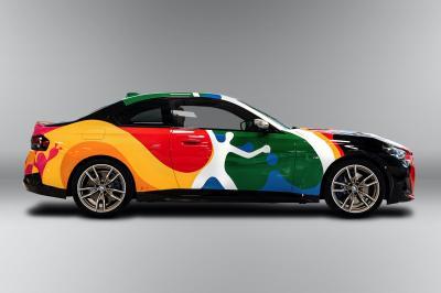 BMW Série 2 by Bosco | Les photos de l'Art Car germano-mexicaine