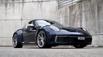 Porsche 992 Targa by Ares Design | Les photos de la sportive préparée