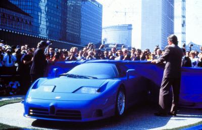 Bugatti EB 110 | Les photos des 30 ans de la supercar