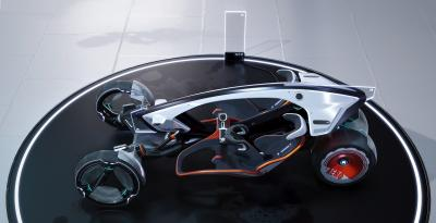 Concept-car R RZYR | Les photos du véhicule futuriste signé SAIC Design
