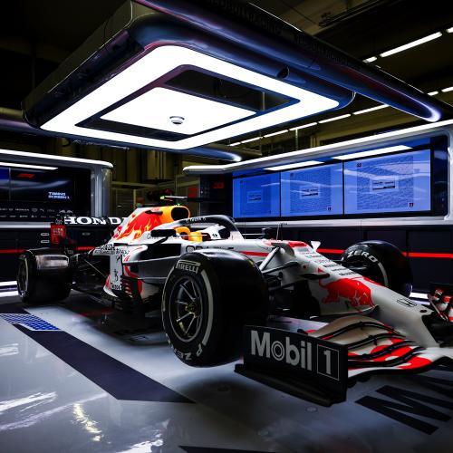 F1 - les photos la livrée spéciale de Red Bull en hommage à Honda