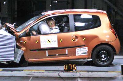 Crash tests : la course aux étoiles