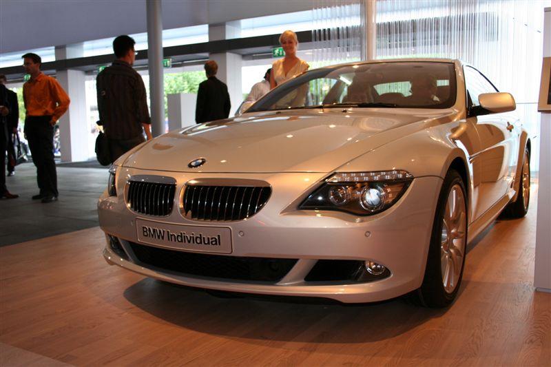 BMW Série 6 restylée