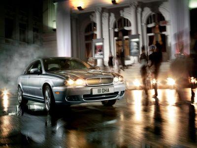 Jaguar X-Type restylée