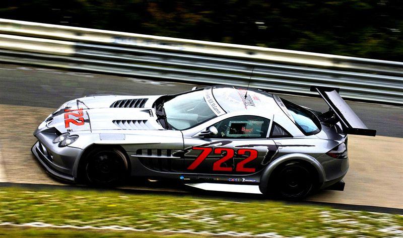 Mercedes McLaren SLR 722 GT
