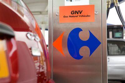 Pompe GNV Carrefour