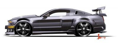 Ford Mustang Shelby GT500 KR (K2000)