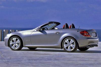 Mercedes SLK restylé