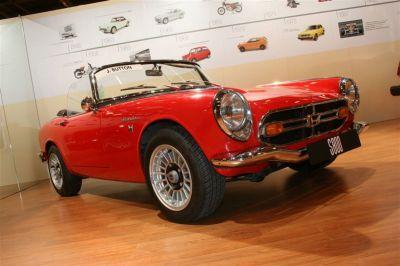 Les 60 ans de Honda à Rétromobile
