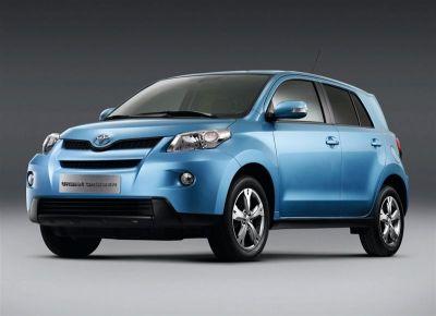Toyota iQ - Toyota Urban Cruiser