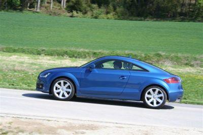 Essai Audi TTS et TT TDI