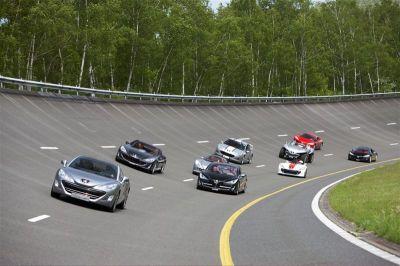 Les concepts Peugeot