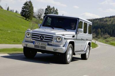 Mercedes Classe G restylé