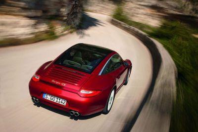 Porsche Targa restylée