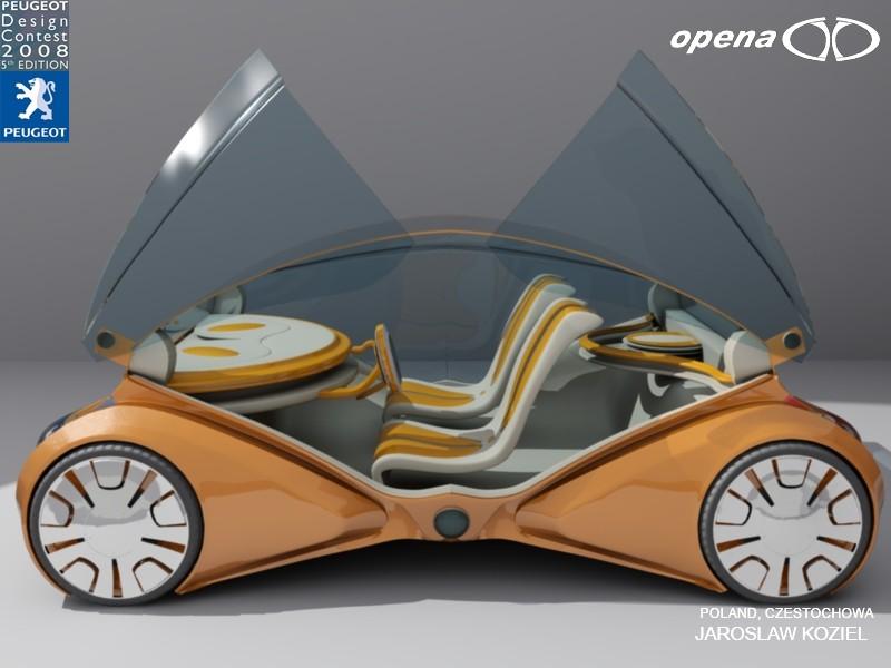 5ème concours de design Peugeot